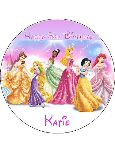 cm rund Essbar Geburtstag Kuchen Topper (Disney Cake Topper)