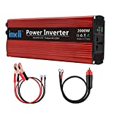 imoli 2000W Car Power Inverter, DC to AC 12V to 220V-240V, 4000W Peak