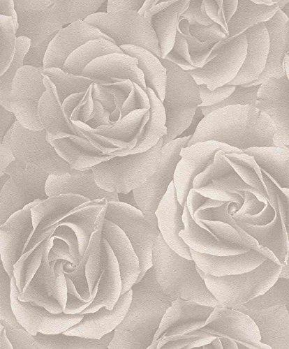 tapete-rosen-beige-53cm-x-1005m-vliestapete-rapportversatz-3200-cm-hoch-waschbestandig-lichtechtheit