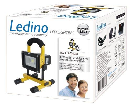 LED-Akkustrahler  <strong>Höhe</strong>   250 mm