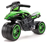 Falk 502KX Kawasaki Bud Racing balance bike, Green and black