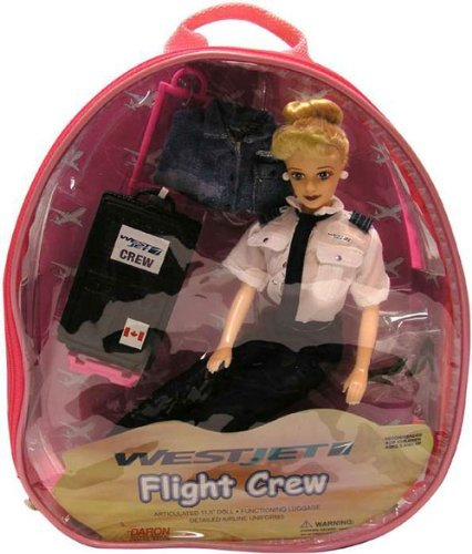 westjet-flight-attendant-doll