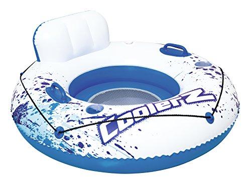 Bestway CoolerZ Luxury Tube 119 cm, Schwimmringsessel (Pool Spielzeug Für Erwachsene)