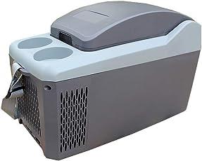 LT&NT Auto Kühlschrank 10 Liter Tragbare Mini Elektrische Kühlschrank Warme und Kühle Box 12 V Gefrierschrank Kühler für Outdoor-Reisen Picknick Camping