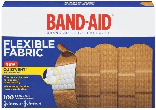 band-aid-adhesive-bandages-flexible-fabric-all-one-size-1-x-3-100-count-by-band-aid