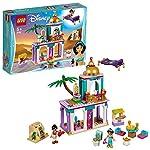 LEGO 41161 Disney Princess Le Avventure nel Palazzo di Aladdin e Jasmine LEGO