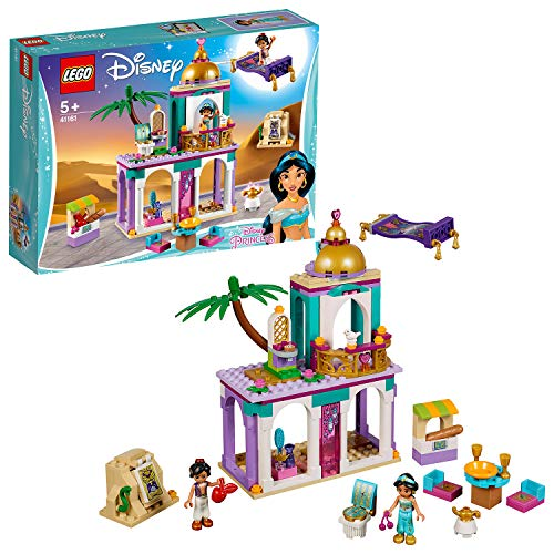 LEGO 41161 Disney Princess Aladdin and Jasmine Palace Adventures Toy Set with Mini Dolls Best Price and Cheapest