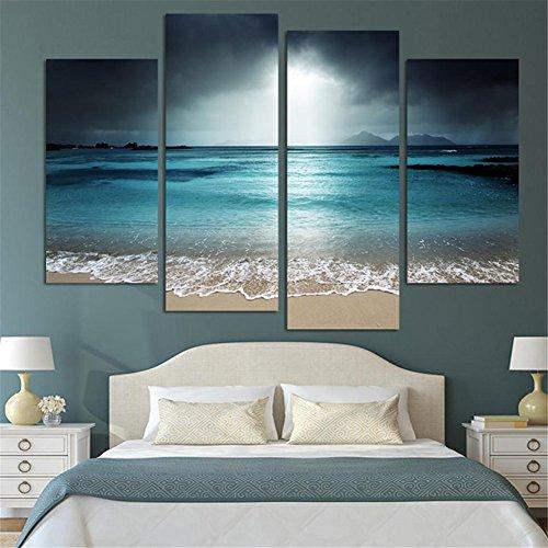 Stampa su tela/Quadro su tela, Oceano Stampa in qualita fotografica, senza telaio Wall Art Decorazioni per la casa LianLe