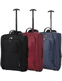 Set de Tres - Equipaje de Mano Equipaje de Cabina Maletas Trolley Bolsas de Viaje para Iberia / Vueling / Volotea