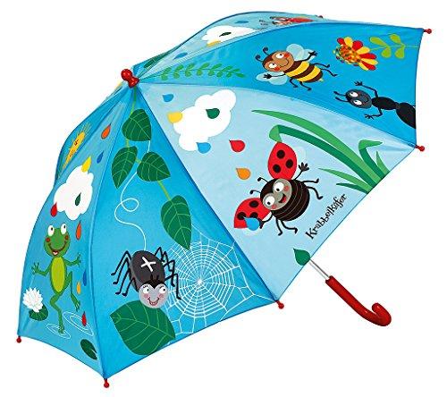 Regenschirm Bunte Tropfen , Schirm für Kinder im farbenfrohen Design , Ø 72 cm ()