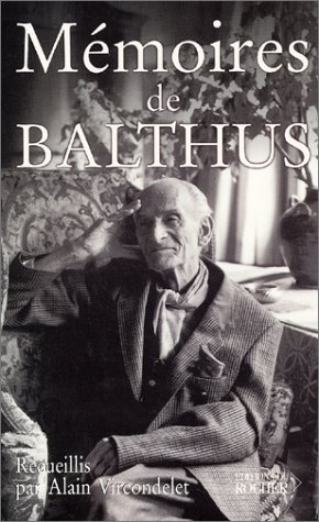 Mémoires de Balthus par Alain Vircondelet