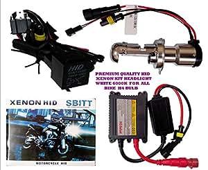 Premium Quality H4 HID Xenon Headlight for All Bikes