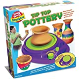 Explore Emporium Tip Top Pottery Beginners Set Suitable for 8 year old Toy Gift Present Ideal for Artistic & Creative…