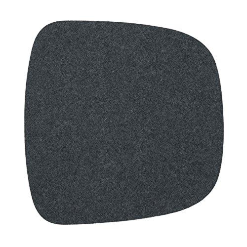 Sitzkissen für Eames Armchair 1-lagig anthrazit