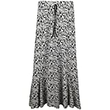 Ladies Womens Gypsy Skirt Maxi Dress New Jersey Summer Long Festival PLUS Size 12-22
