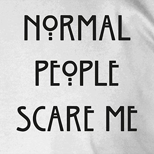 Normal People scare me - Damen T-Shirt Grau