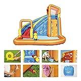 Bestway H2OGO! Wasserpark Turbo Splash, Planschbecken mit Wasserrutsche und Kletterwand, 365x320x275...