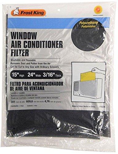 thermwell Produkte f152415x 24x 1/4-Zoll Fenster Klimaanlage Filter–Menge 24 Klimaanlage Filter 24x24