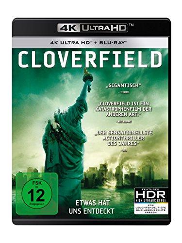 Cloverfield - Ultra HD Blu-ray [4k + Blu-ray Disc]