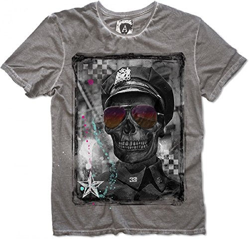 Amplified NYPD T-Shirt Grey