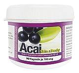 Acai Extrakt Skin & Body mit Bacillus Subtilis DSM 21097 | 90 Kapseln I VERSAND SCHNELL SICHER MIT DHL I KOSTENLOS IN DEUTSCHLAND