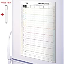 CKB Ltd® 7 Giorni Magnetico FAMILY PLANNER Fridge Board Planner