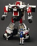 Transformers Takara binaltech asterisco alerta Subaru Impreza WRX Negro & Blanco 1: 24Escala figura de acción Vehículo