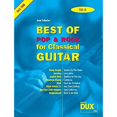 /% Best of Pop /& Rock for Classical Guitar Vol.10 Songbook Noten Gitarre TAB NEU!