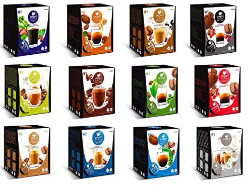 CAPSULAS DE CAFE COMPATIBLES CON MAQUINA DOLCE GUSTO PACK 16 ORIGEN SENSATIONS (AVELLANA)