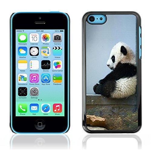 Graphic4You Ni Hao China Karikatur Panda Tier Design Harte Hülle Case Tasche Schutzhülle für Apple iPhone 5C Design #2