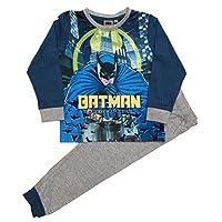 Jim Jams Boys Batman Long Pyjamas Sizes 3 To 10 Years (7-8 Years)