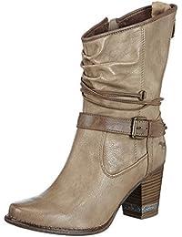 Mustang Damen Halbschaft Stiefel