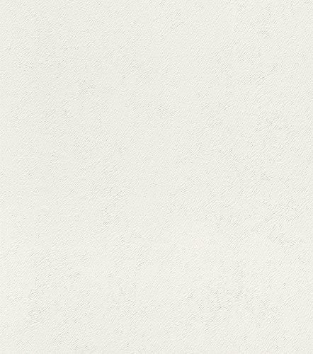 514537 - Carta da parati Foresta Nera crema bianca e fine pelliccia