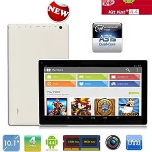 """TONBUX®10.1 """"A31S Quad Core 1,5 GHz google Android 4.4 PC KitKat double caméra Wifi Tablette"""