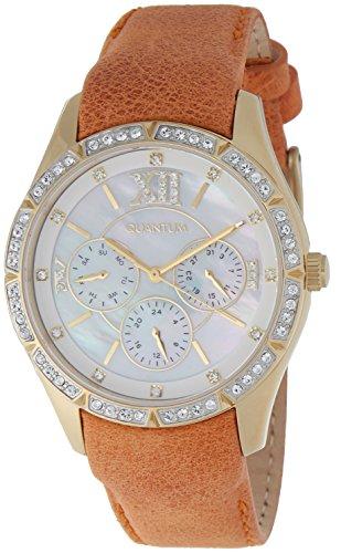 QUANTUM Damen-Armbanduhr Impulse Chronograph Quarz Edelstahl beschichtet IML398.125