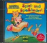 spielen + lernen Spiel- und Spaßlieder: CD mit farbigem Liederbuch