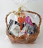 Geschenkkorb Wellness Entspannung Geschenk für Frauen fertig verpackt