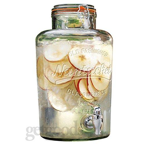Get Goods GG0025.403 - Dispensador de cristal para bebidas con grifo d