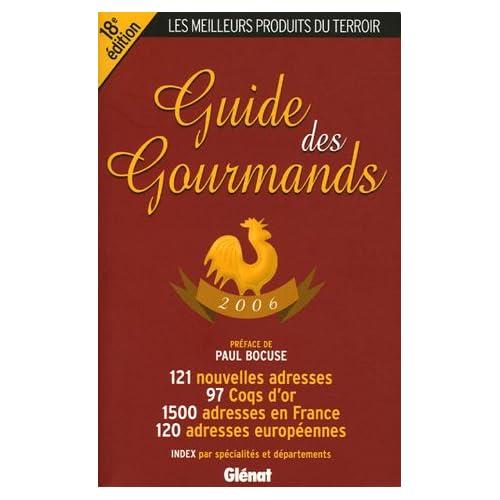 Guide des gourmands 2006