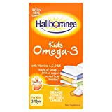 Seven Seas Haliborange Kids Omega-3 Chewy Bursts Orange Flavour 90 from Haliborange