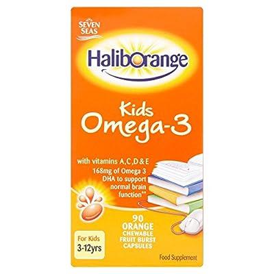 Seven Seas Haliborange Kids Omega-3 Chewy Bursts Orange Flavour 90 from Haliborange
