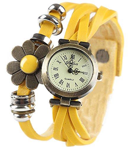 samgu-vintage-femmes-quartz-analogique-vintage-flower-cuir-tresse-band-strap-montres-couleur-jaune