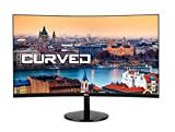 HKC 27A9 27 Zoll (68,5 cm) Curved LED Monitor, Full-HD 1920x1080, HDMI, VGA - Schwarz