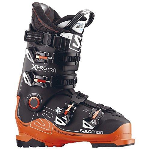Salomon Herren Skischuhe X Pro 130 Black Schwarz/Orange (704) 25,5