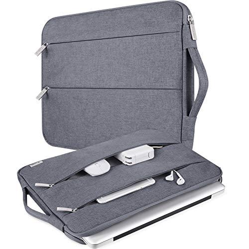 Voova 11 11,6 12 Pulgadas Funda Protectora para Portátiles/Impermeable Ordenador Portátil Caso con asa Funda Protectora Impermeable Compatible con MacBook Pro, HP, Lenovo con Bolsillo