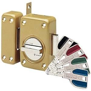 Vachette - Verrou de porte a bouton a2p tres haute securite radial nt+ 4 cles