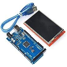 "Kit Arduino Mega 3.5"" TFT LCD Pantalla Táctil. Arduino Mega 2560 + 3.5"" TFT LCD Touch Screen."