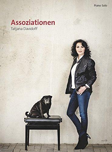 'Assoziationen': pianoforte Partiture con 11 ballate romantiche e composizioni moderne - da lieve a moderata (compresi incl. CD)