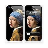 Skinkin Sticker iPhone 5 de chez Design original : La jeune fille à la perle par Johannes Vermeer