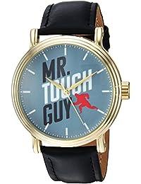 Disney Men's 'Incredibles 2' Quartz Metal Casual Watch, Color Black (Model: WDS000581)